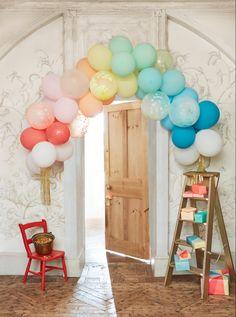 #balloongarland #balloons #balloondecorations