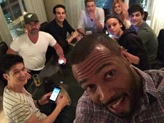"Isaiah: ""We're getting ready to play!"" #Shadowhunters <3 Loved the livestream even though I didn't really understand that game LOL. It was so awesome to see the cast hanging out though <3 BABIEESSSSSS"