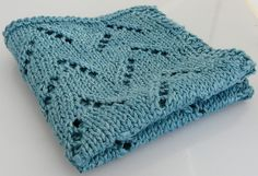 Ravelry: Eco-stitch's Lacy linen wash cloth