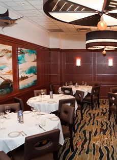 Barracuda Room At The Oceanaire Seafood Capacity 20 Private Dining