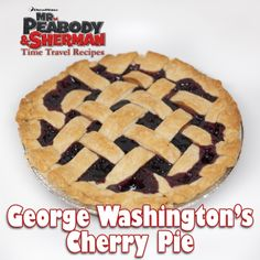 """George Washington's Cherry Pie!- A DIY idea for movie snacks at a backyard movie event by Southern Outdoor Cinema."
