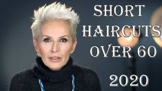 Pixie haircuts 2020 looks to be the most trendy short haircut in the world. Every year, short hair styles continue to be the most important accessory of every woman with new models. Short Hair Over 60, Short Hair Older Women, Haircut For Older Women, Haircut For Thick Hair, Very Short Hair, Short Hair With Layers, Short Hairstyles For Women, Long Hair, Wavy Hairstyles