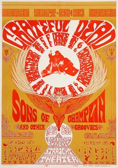 Tour Posters, Music Posters, Concert Posters, Grateful Dead Tour, Psychedelic Posters, Best Rock, Classic Rock, Gd, Folk