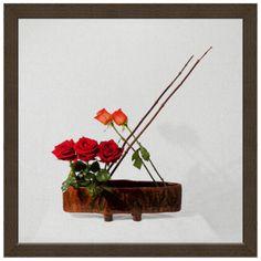 Печать на холсте. Картина 30х30 см в раме. Incense