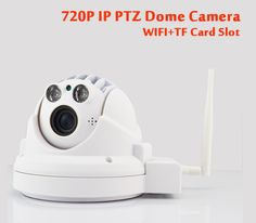 129.52$  Buy here - http://ali9h7.worldwells.pw/go.php?t=32227182926 - CTVMAN Mini PTZ Dome IP Camera 720p Full HD Wireless Pan/Tilt 4X Zoom With TF/SD Card Slot Onvif WIFI Security Home IP cam