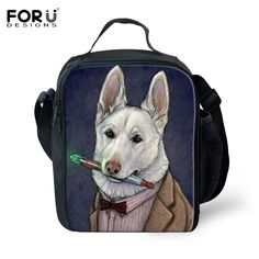 Original Animal Dog Cat Thermal Lunch Bag Cooler Japanese Bento Lunch Box for Picnic Children Kids Lunch Bags Insulation Package
