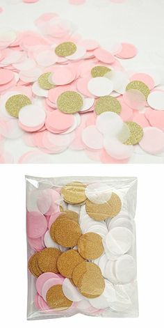 4000 Pieces Paper Confetti 1 Inch Round Tissue Paper Table Confetti Dots for Wedding Party Decoration