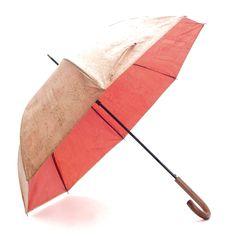 Regenschirm «Orange» mit Korkbeschichtung – Online kaufen E Commerce, Vegan Doc Martens, Vegan Fashion, Orange, Fashion Accessories, Wool, Strand Bracelet, Rain Fall, Vegan Products