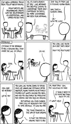 XKCD on Negging