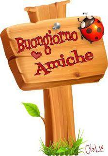 Buongiono dolci e teneri Italian Greetings, Italian Memes, Happy Birthday Quotes, Day For Night, Emoticon, Good Mood, Happy Day, Wall Collage, Smiley