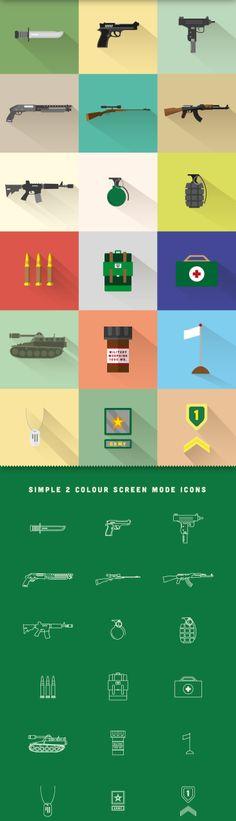 WAR - Free icon set