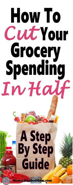 How to Cut Your Grocery Budget in Half ~ A step by step guide. Saving money on groceries is one of the easiest ways to cut back on monthly expenses. Learn how to save serious money on groceries every month. Frugal Living Tips, Frugal Tips, Frugal Meals, Cheap Meals, Money Saving Meals, Save Money On Groceries, Ways To Save Money, Budget Meal Planning, Budget Cooking