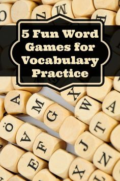 5 Fun Word Games for Vocabulary Practice - Minds in Bloom