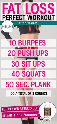 Fat Loss Perfect Workout! #fitness #bodybuilding #workout #gym #weightloss #fatloss #diet #loseweightfast #love #new #pinterest #london #newyork #uk #newyork #losangeles