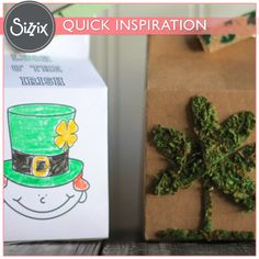 Sizzix Inspiration | Leprechaun Houses by Jessica Roe