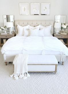 58 Amazing Master Bedroom Designs Ideas #amazingbedroomdesign #masterbedroomideas #amazingmasterbedroom : solnet-sy.com