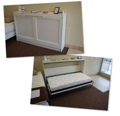 Single bed with desk wall bed desk hover horizontal single bed desk expand furniture throughout pertaining Murphy Bed Kits, Murphy Bed Desk, Murphy Bed Plans, Twin Size Murphy Bed, Expand Furniture, Ikea Furniture, Furniture Design, Murphy-bett Ikea, Horizontal Murphy Bed