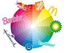 Color theory is an important part of graphic design,  it was convey certain emotions or draw the eye to a particular area. http://www.smashingmagazine.com/2010/01/28/color-theory-for-designers-part-1-the-meaning-of-color/