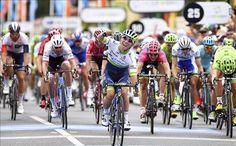 Caleb Ewan primer líder del Tour Down Under en Australia