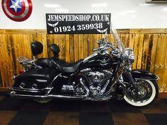 eBay: Harley-Davidson FLHRC ROAD KING CLASSIC 1584 2009 #motorcycles #biker