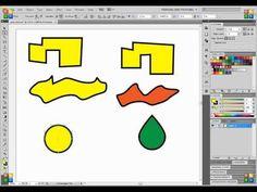 Adobe Illustrator CS5 Pen Tool Tutorial - http://bit.ly/JvT3yT