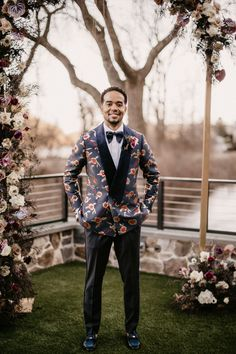 Searching for moody wedding ideas? You've come to the right place. Jewel and Ameer's micro-celebration is filled with inspiration. Gothic Wedding, Wedding Men, Wedding Styles, Wedding Photos, Groom Attire, Groom And Groomsmen, Modern Groom, Ceremony Seating, Stylish Suit