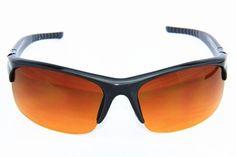 I's Colour Anti-Glare Dark Gray Aerial Sport Driving Sunglasses