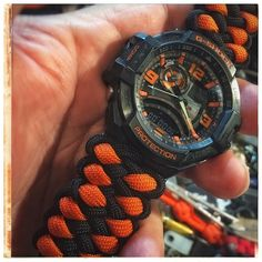 #paracord #paracordporn #tactical #watch #gshock