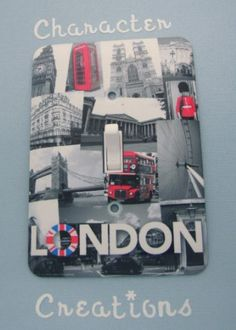 """LONDON, England, UK Design Standard Metal Light switch Cover (Switch plate Switchplate) by Character Creations. $12.00. NOT a Sticker.  Image is heat sealed into the switchplate, therefore is completely washable.. Standard Size Lightswitch Cover (3 1/2"""" x 5""""). Beautifully finishes off any room. High Quality Steel Switchplate with Beautiful Satin Finish. London Attractions Design. This is a fantastic addition to any bedroom, recroom or office and is made from High Qualit..."""