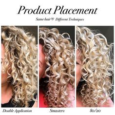➰More Hold and Definition➰ . How to achieve that? By trying one of these techniques. My experience is that all 3 of these methods helps… Dark Curly Hair, Curly Hair Tips, Curly Hair Care, Natural Hair Care, Curly Hair Styles, Natural Hair Styles, Style Curly Hair, Natural Wavy Hairstyles, Naturally Curly Hairstyles