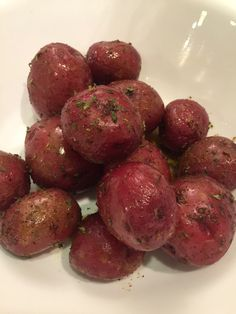 Herbed Baby Red Potatoes - A gift from Mother Nature.