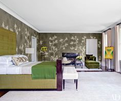 Bedroom Fireplace Ideas and Designs Photos | Architectural Digest