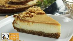 How To Make Cheesecake, Best Cheesecake, Cheesecake Recipes, Salted Caramel Cheesecake, Food Videos, Recipe Videos, Biscuit, Food And Drink, Cooking Recipes