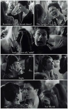 Damon and Elena ♥