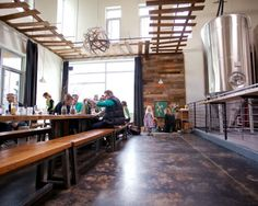 Brewery Tasting Room | The Pfriem Family Brewers taproom in Hood River.