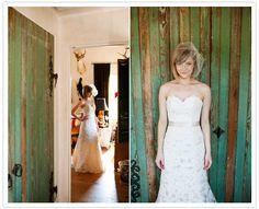 Le San Michele in Austin, Kristi Wright photos. Tulle birdcage veil <3