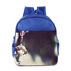 MYKKI Cute Angel Children Personalize Bag RoyalBlue >>> Click on the image for additional details.