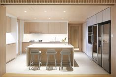 A Simple Home for a Growing Family by Pencil Office