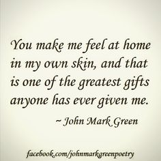 """The Gift"" (short version) - romantic poetry by John Mark Green"