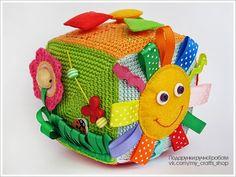My crafts life ♥ : Розвиваючий кубик