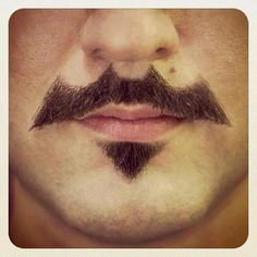Ok so maybe I would let me boy have facial hair if it was in the shape of the Bat Man logo.