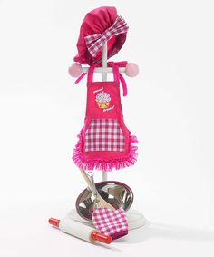 Look at this Sweet Treats Baking Outfit for 18'' Doll on #zulily today!