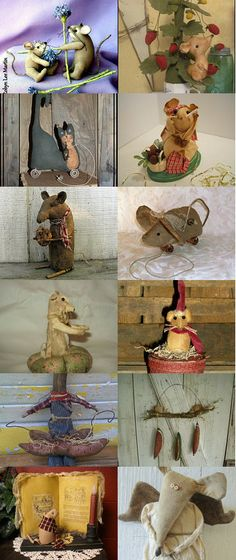 Oh Rats I Mean Mice by Lisa Johnson on Etsy