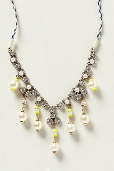Pearled Foxglove Necklace - anthropologie.com