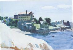 Edward Hopper / Watercolor