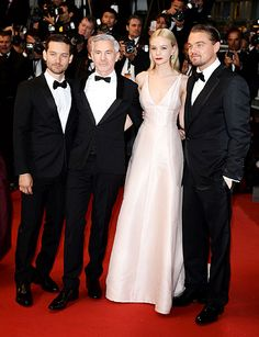 Cast members of The Great Gatsby at the Cannes film festival