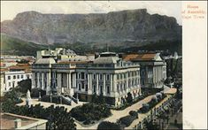 House of Assembly, Cape Town Pretoria, Victorian Houses, Cape Town, South Africa, Memories, Mansions, House Styles, Pictures, Image