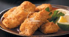 Crunchy Fish Sticks Recipe - Recipes Table