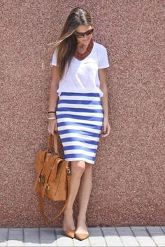 Classic! Simple but chic.  Great for summer in Europe!