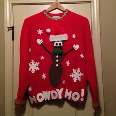 mr hankey christmas sweater..I WANT!!